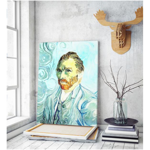 Πίνακας ζωγραφικής σε Καμβά Βαν Γκογκ Αυτοπροσωπογραφία 2