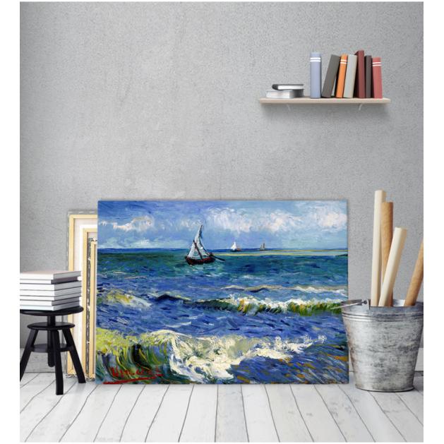 Πίνακας ζωγραφικής σε Καμβά Βαν Γκογκ Seascape