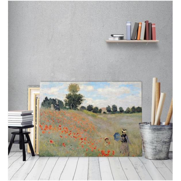 Πίνακας ζωγραφικής σε Καμβά Claude Monet Paparounes