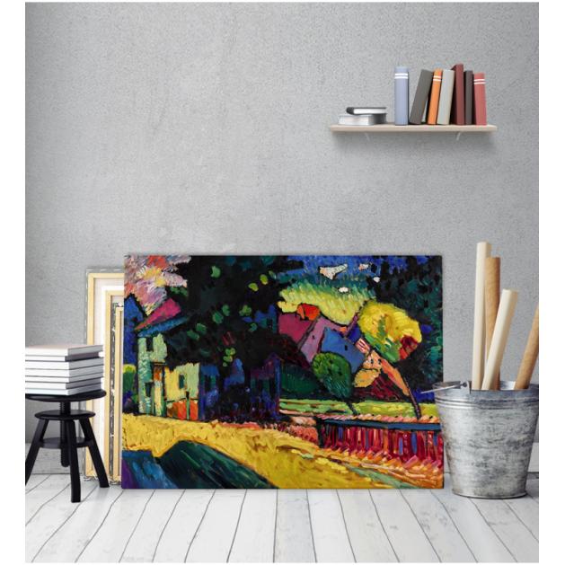 Πίνακας ζωγραφικής σε Καμβά Kandinsky Murnau