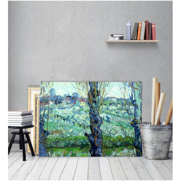 Πίνακας ζωγραφικής σε Καμβά Van Gogh View Of Arles
