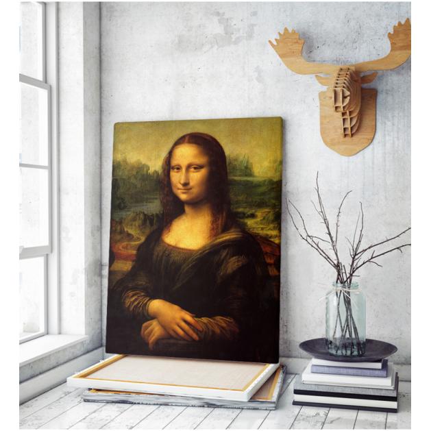 Πίνακας ζωγραφικής σε Καμβά Leonardo Da Vinci Mona Lisa