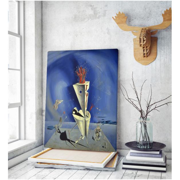 Πίνακας ζωγραφικής σε Καμβά Pablo Picasso - Salvador Dali