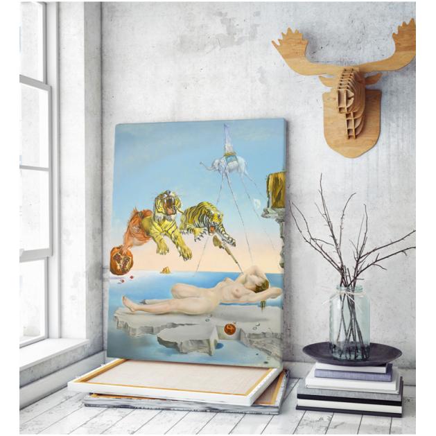 Πίνακας ζωγραφικής σε Καμβά Salvador Dali The Dream