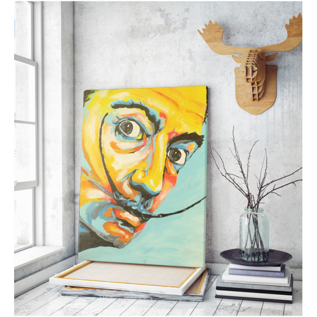 Πίνακας ζωγραφικής σε Καμβά Salvador Dali Selfportrait