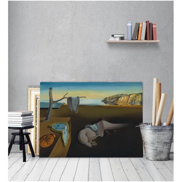 Πίνακας ζωγραφικής σε Καμβά Salvador Dali The Persistance Of Memory