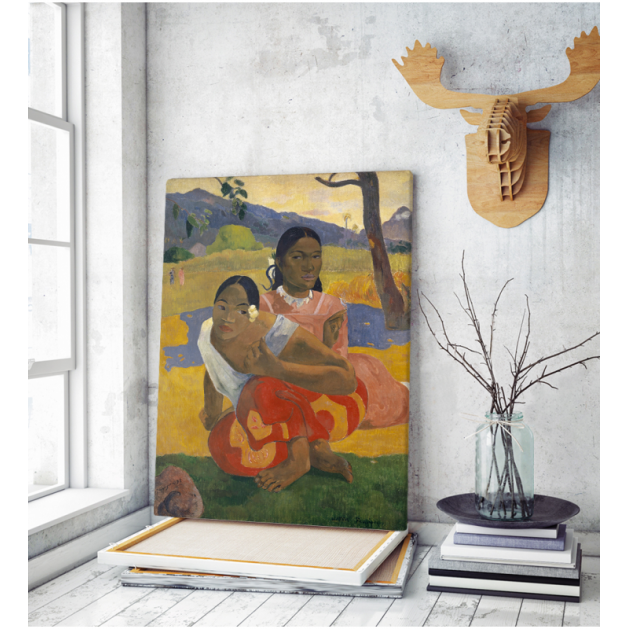 Πίνακας ζωγραφικής σε Καμβά Gauguin When Will You Marry