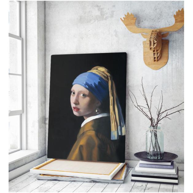 Πίνακας ζωγραφικής σε Καμβά Vermeer Girl With A Pearl Earring