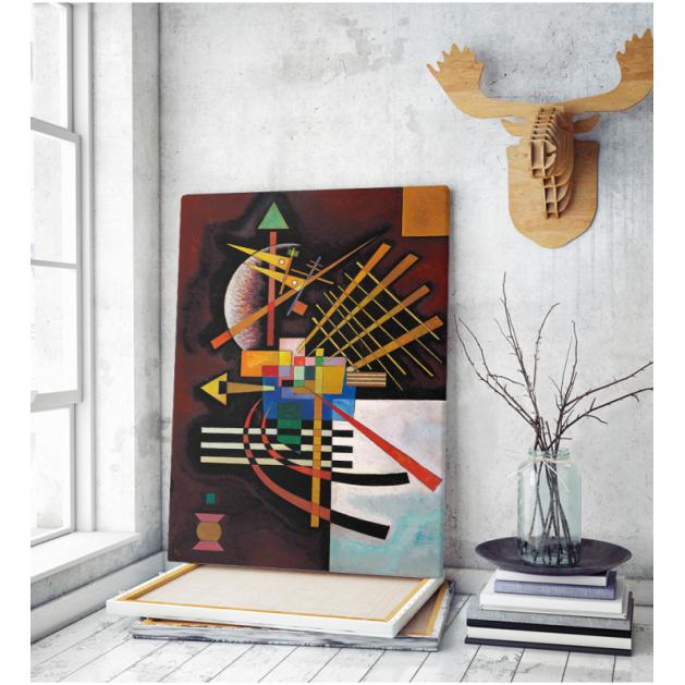 Πίνακας ζωγραφικής σε Καμβά Kandinsky Painting