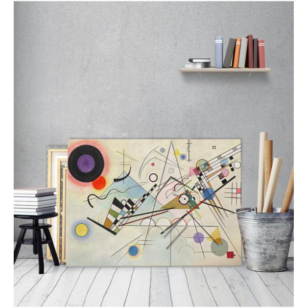 Πίνακας ζωγραφικής σε Καμβά Kandinsky Composition 8