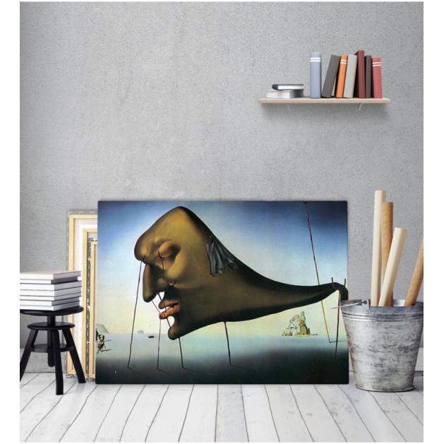 Πίνακας ζωγραφικής σε Καμβά Salvador Dali Sleep Painting