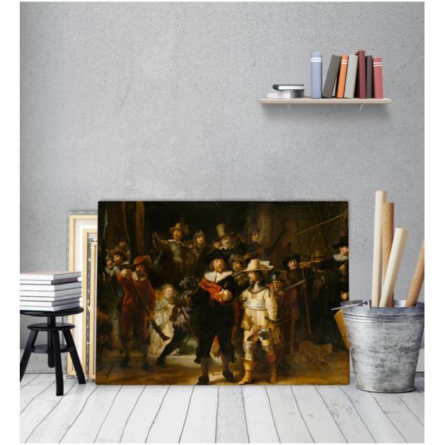 Πίνακας ζωγραφικής σε Καμβά  Rembrandt Night Watch