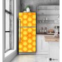 """Αυτοκόλλητο Ψυγείου με εκτύπωση  Κυψέλες """"Beehives"""""""