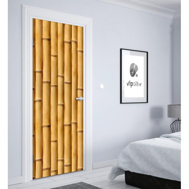 """Αυτοκόλλητο Πόρτας """"Bamboo"""""""