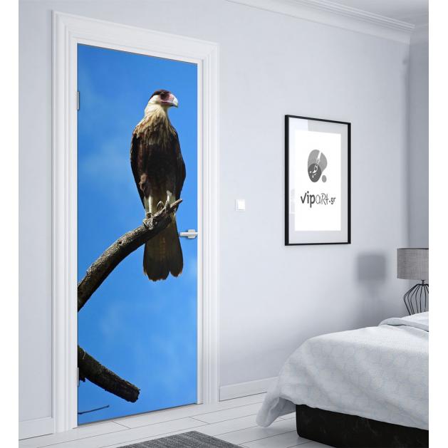 """Αυτοκόλλητο Πόρτας με εκτύπωση  """"Bird"""""""
