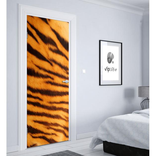 """Αυτοκόλλητο Πόρτας με εκτύπωση  """"Animal Print"""""""