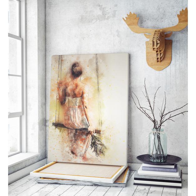 Πίνακας ζωγραφικής σε Καμβά με γυναίκα