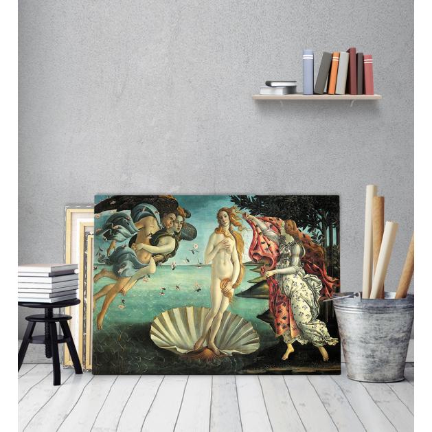 Πίνακας ζωγραφικής σε Καμβά η γέννηση της αφροδίτης botticelli