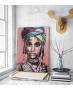 Πίνακας σε Καμβά Desert Lady in a turban painting